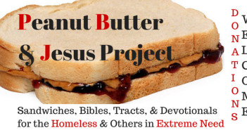 peanut butter and Jesus project