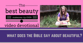 best beauty makeover tip video devotional thumbnail