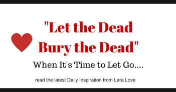 """let the dead bury the dead"" www.walkbyfaithministry.com"