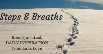 steps and breaths www.walkbyfaithministry.com