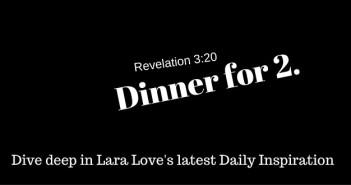 revelation 3:20 www.walkbkyfaithministry.com