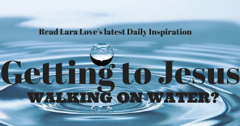 Getting to Jesus