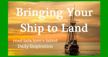 bringing your ship to land Luke 5:11 www.walkbyfaithministry.com