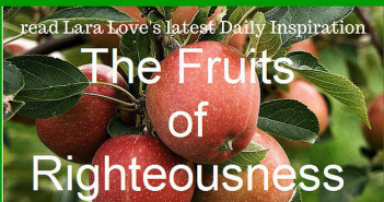 fruits of righteousness www.walkbyfaithministry.com