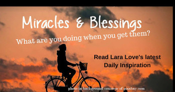 miracles and blessings Daily Inspiration Walk by Faith Ministry