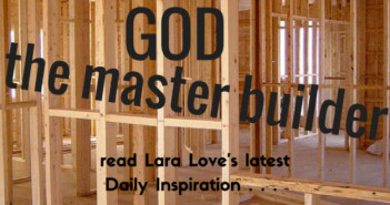 God the Master Builder