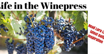 life in the winepress www.walkbyfaithministry.com