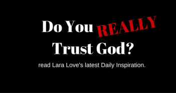 do you really trust God