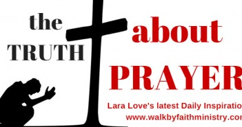 truth about prayer