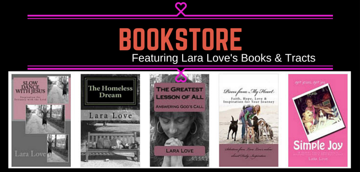 LARA LOVE'S BOOKSTORE for website