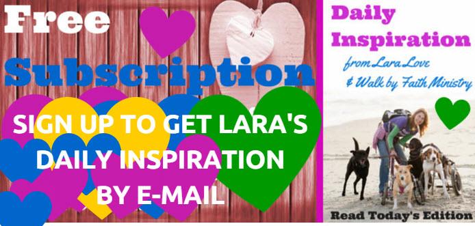 sign up – daily inspiration – slider