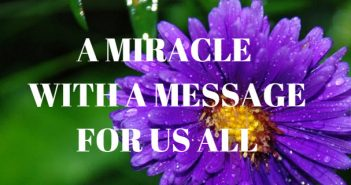 miracle with a message for us all