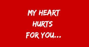 heart hurts