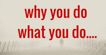 why you do what you do