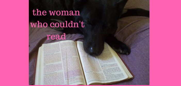 woman who couldn't read