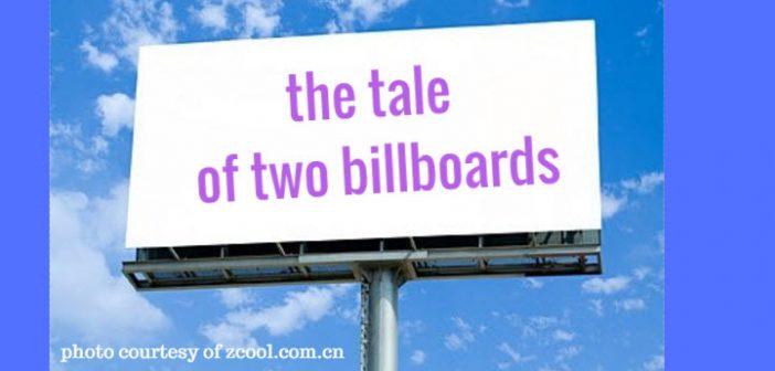 tale of two billboards
