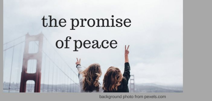 promise of peace pexels