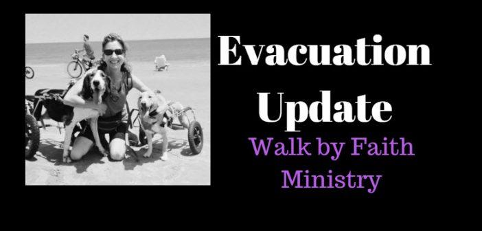 evacuation update