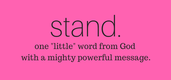 word from god stand