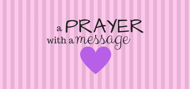 prayer with a message