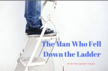 man who fell down the ladder