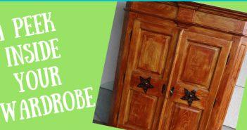 peek inside your wardrobe