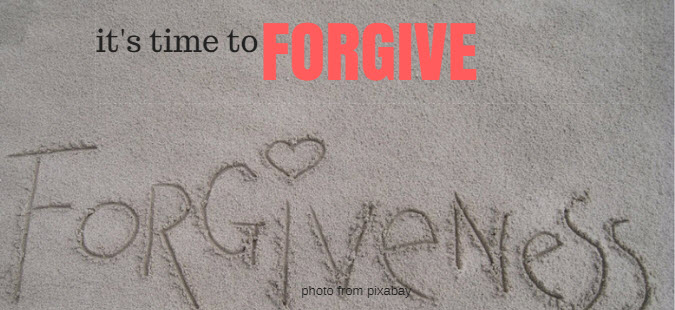 time to forgive