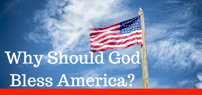 why should God bless america