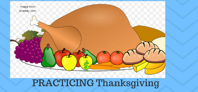 practicing thanksgiving