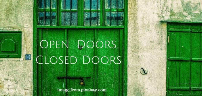 open doors closed doors