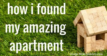 how i found my amazing apartment