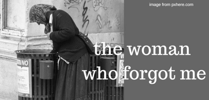 woman who forgot me