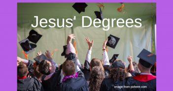 jesus degrees