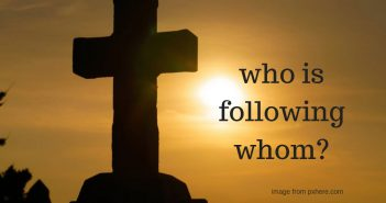 who is following whom