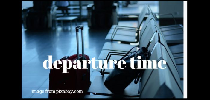 departure time
