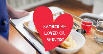 rather be loved or served