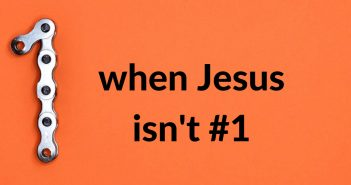 when jesus isn't number one