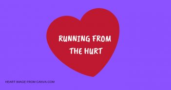 RUNNING FROM THE HURT