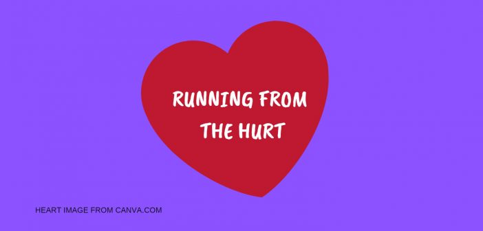 RUNNING FROM THE HURT