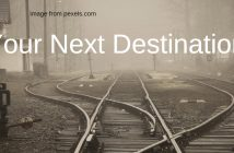 your next destination