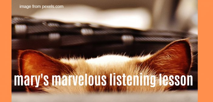 marys marvelous listening lesson