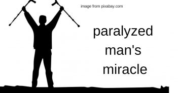 paralyzed man's miracle