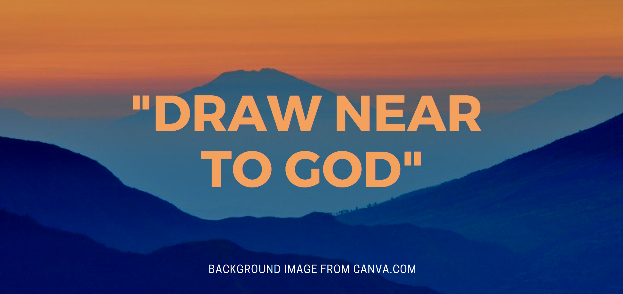 Image result for DRAW NEAR IN FAITH