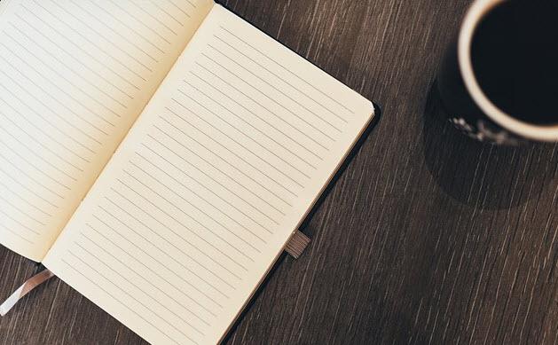 Resultado de imagen para tumblr empty notebooks